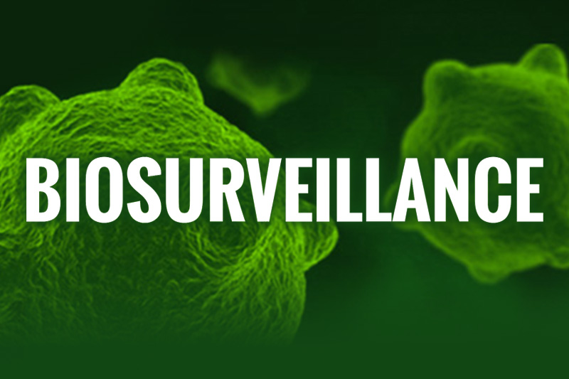 Graphic for DoD Biosurveillance Special Report.