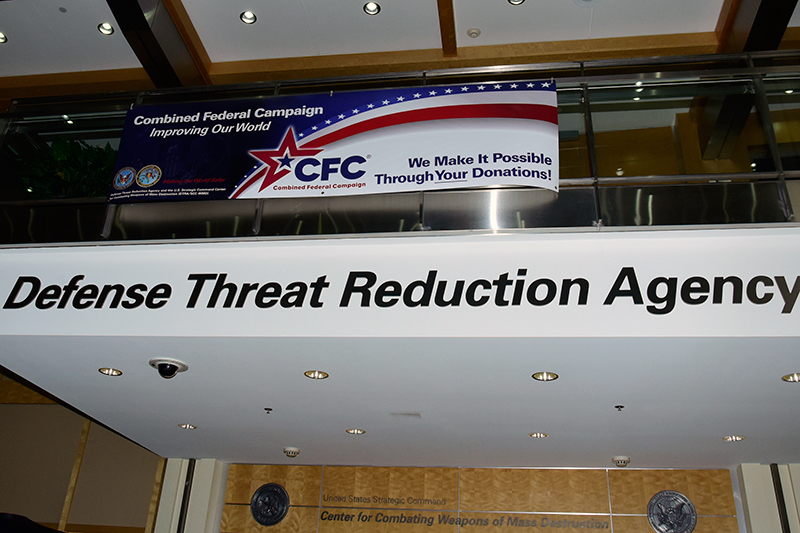 Defense Threat Reduction Agency sign