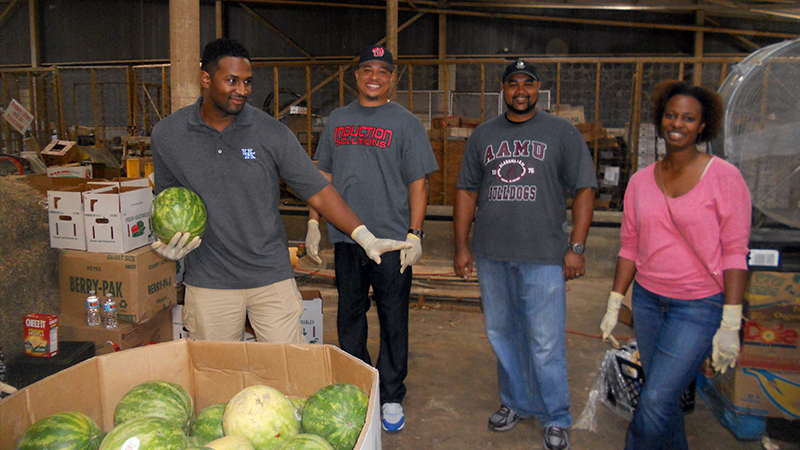 DoD employees participate DoD Gleaning Day event