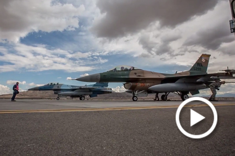 Aggressor Squadron Pilots Participate in Red Flag Exercise