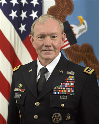 Profile photo of Chairman of the Joint Chiefs of Staff Martin Dempsey