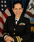 Profile photo of U.S. Navy Lt. Cmdr. Erika C. De La Parra Gehlen
