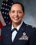 Profile photo of U.S. Air Force Lt. Col. Susana Corona Smith