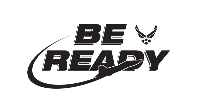 Air Force Be Ready Logo