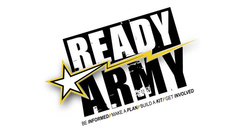 Ready Army Logo
