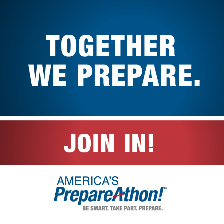FEMA PrepareAthon Web Badge Together Web Prepare