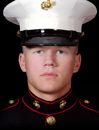 Portrait of Marine Corporal William Kyle Carpenter