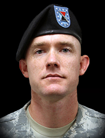 Portrait of Army Staff Sgt. Ty Michael Carter