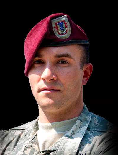Portrait of Army Staff Sgt. Salvatore A. Giunta