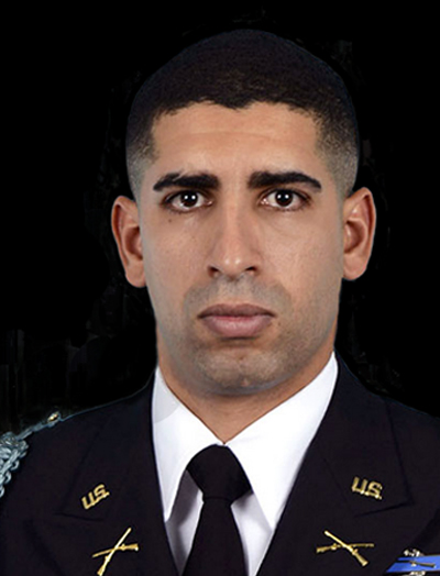 Portrait of Army Capt. Florent A. Groberg