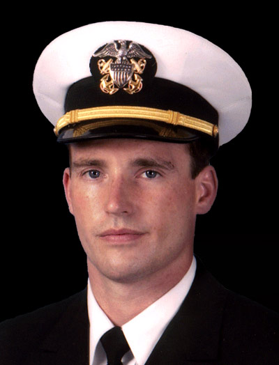 Portrait of Navy Lieutenant Michael P. Murphy