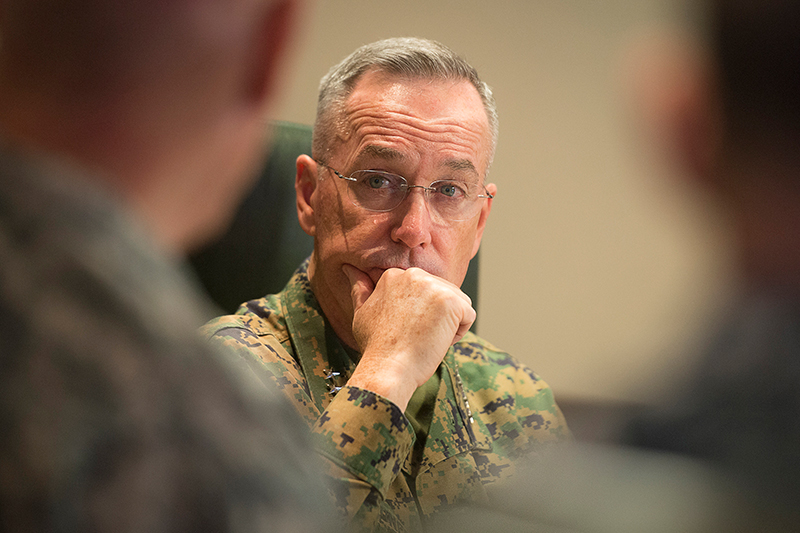 Photo of U.S. Marine Corps Gen. Joseph F. Dunford Jr., chairman of the Joint Chiefs of Staff