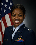 Profile photo of Air Force Capt. Denisha L. Darcus