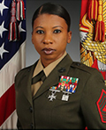 Profile photo of Marine Corps Sgt. Maj. Ronda R. Porter