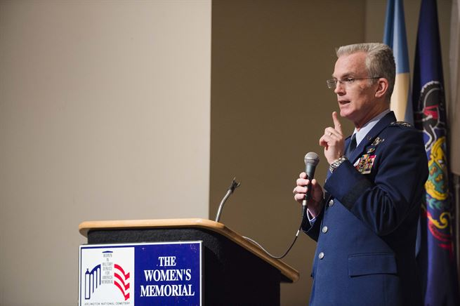 Vice Chairman Speaks at Officer Women Leadership Symposium