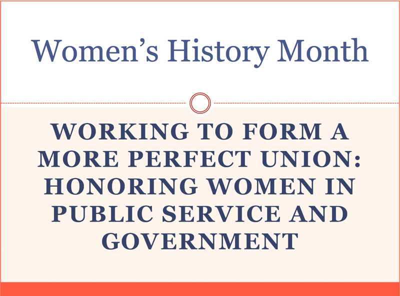 Women's History Month PowerPoint Presentation - Click to download