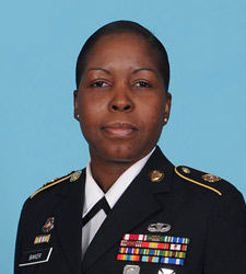 Profile photo of Army Sgt. 1st Class Sue-Ellyn S. Baker