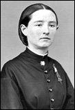 Dr. Mary Edwards Walker wearing her Medal of Honor