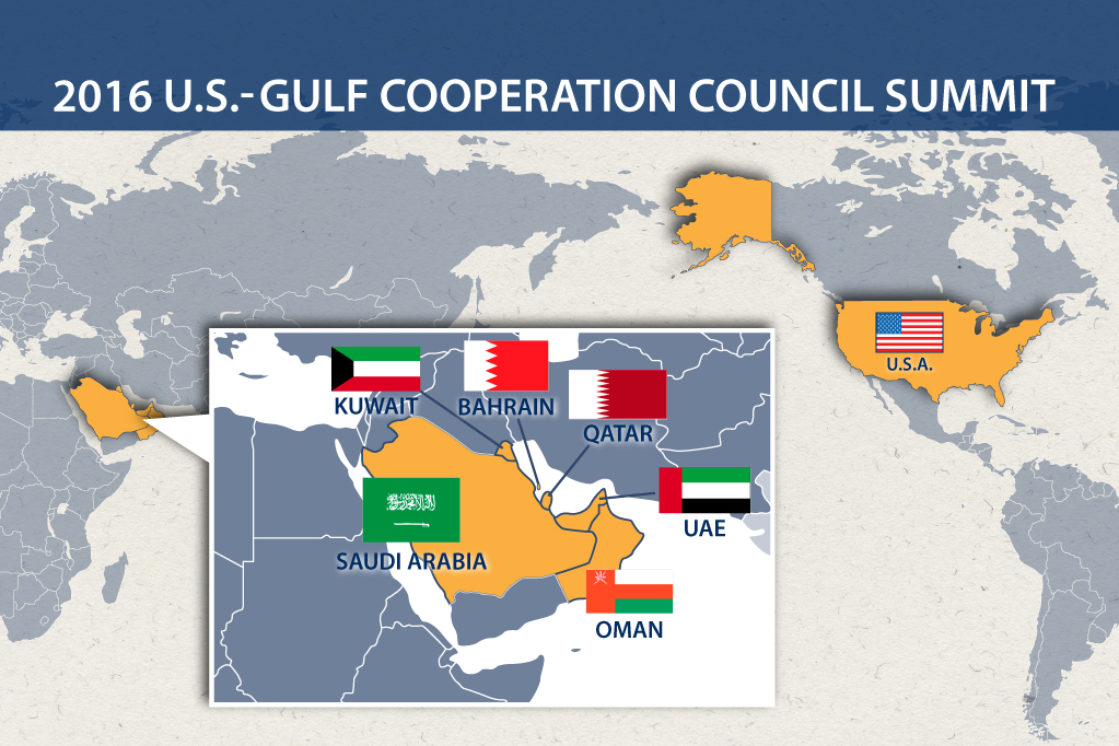2016 U.S.-Gulf Cooperation Council Summit Infographic