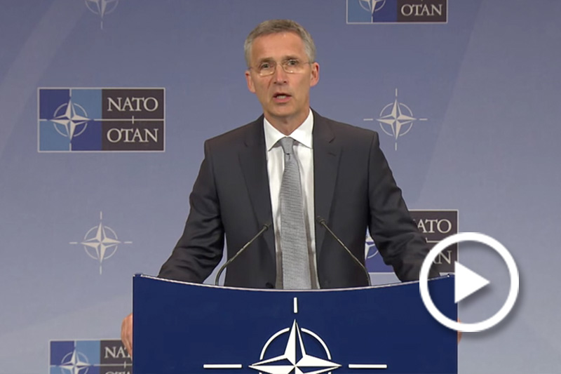 NATO Secretary General's Pre-Ministerial Press Conference