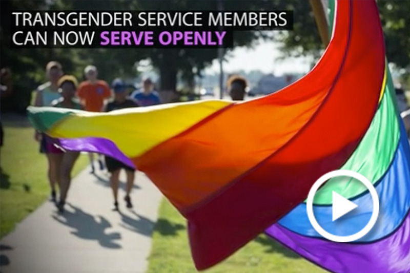 Transgendered Service Members Can Now Serve Openly