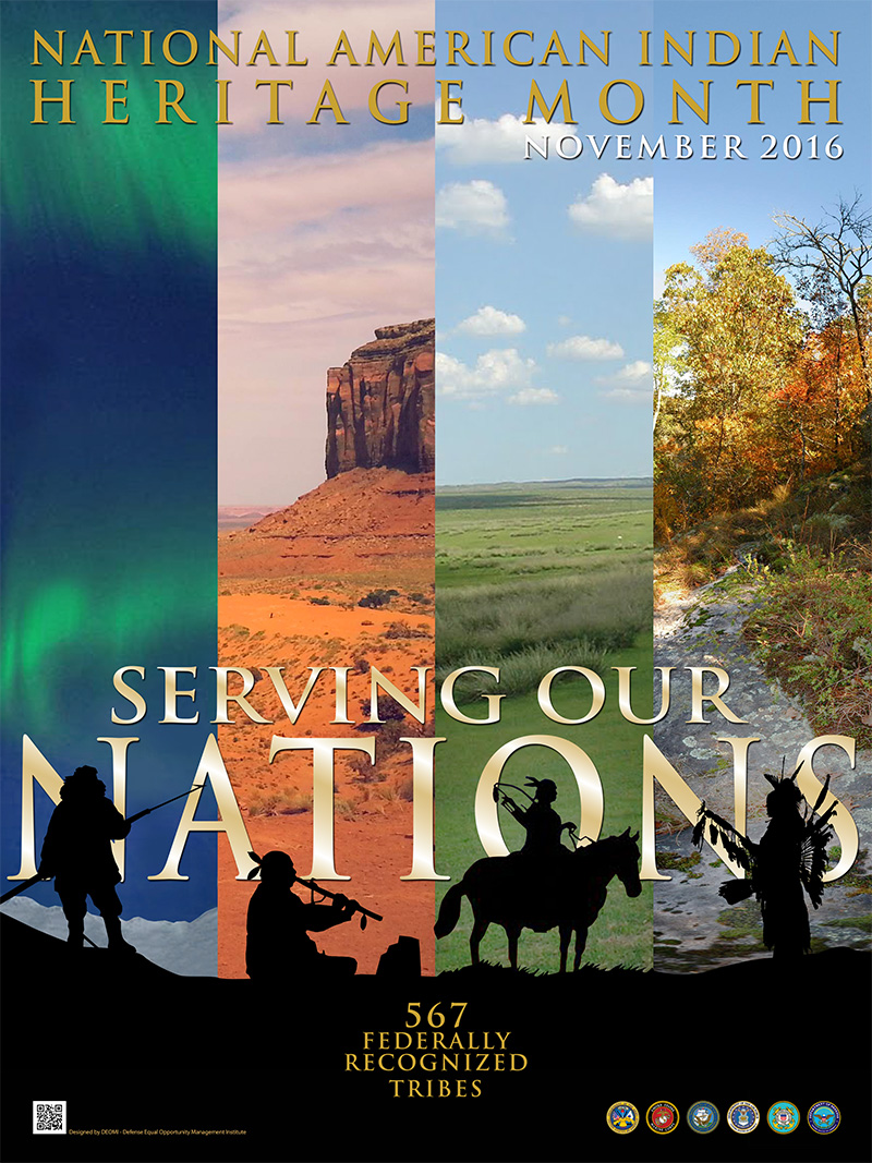 National American Indian Heritage Month 2016 Poster