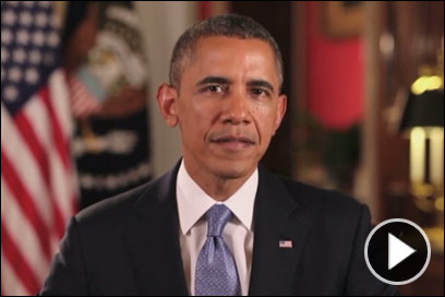 Obama Issues Message to Troops, DOD Workers About Shutdown