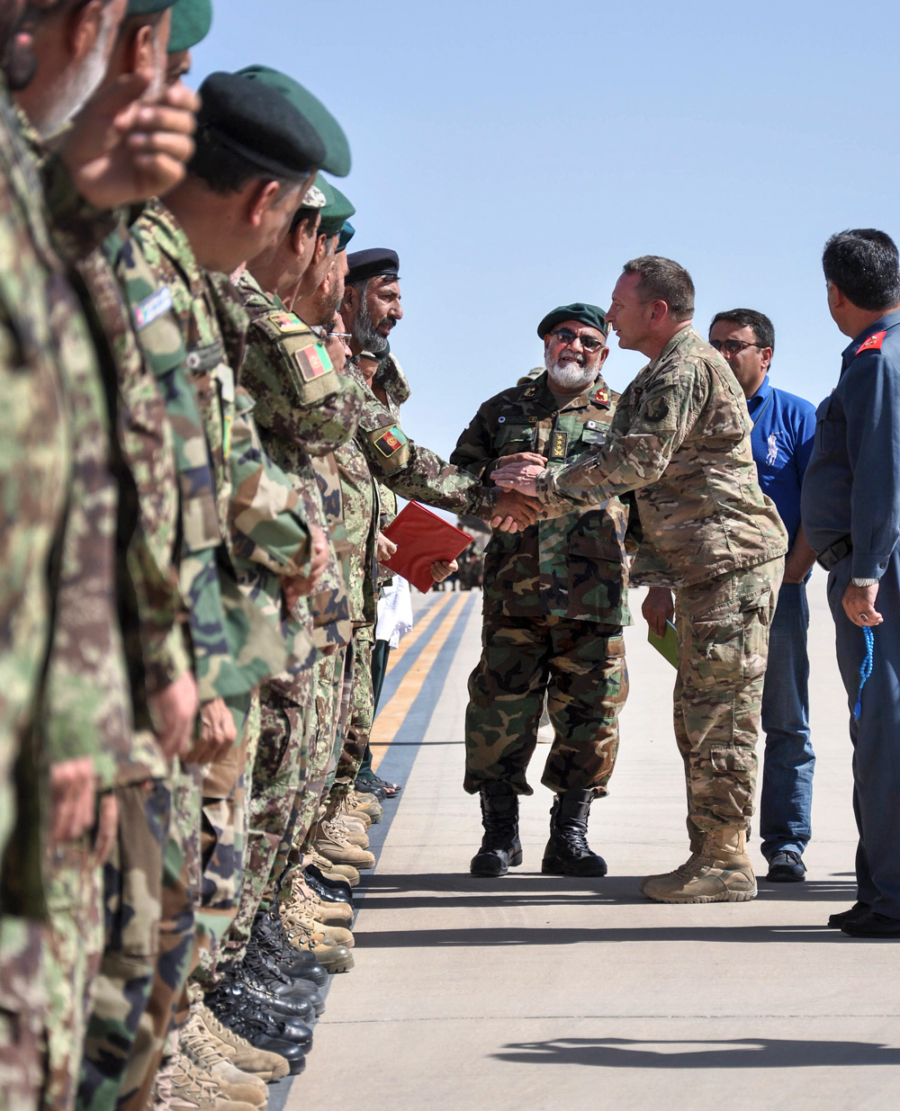 Resolute Support for Afghan Security Forces