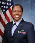 Profile photo of Air Force Capt. Levicy F. Crawford