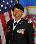 Profile photo of Minnesota Army National Guard Col. Angela Steward-Randle