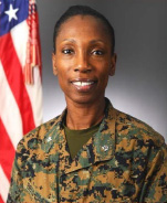 Profile photo of Marine Corps Lt. Col. Melanie Bell-Carter