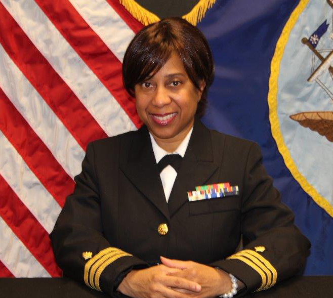 Navy Cmdr. Tanya C. Coaston