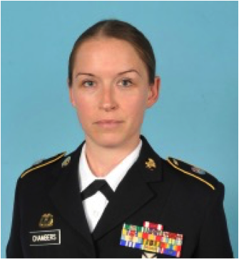 Army Sgt. 1st Class Lillie Chambers