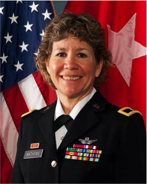"Army Brig. Gen. Joane ""Joni"" Mathews"