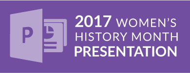 Women's History Month PowerPoint Presentation