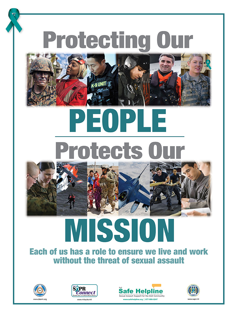 Protecting our people protects our mission poster
