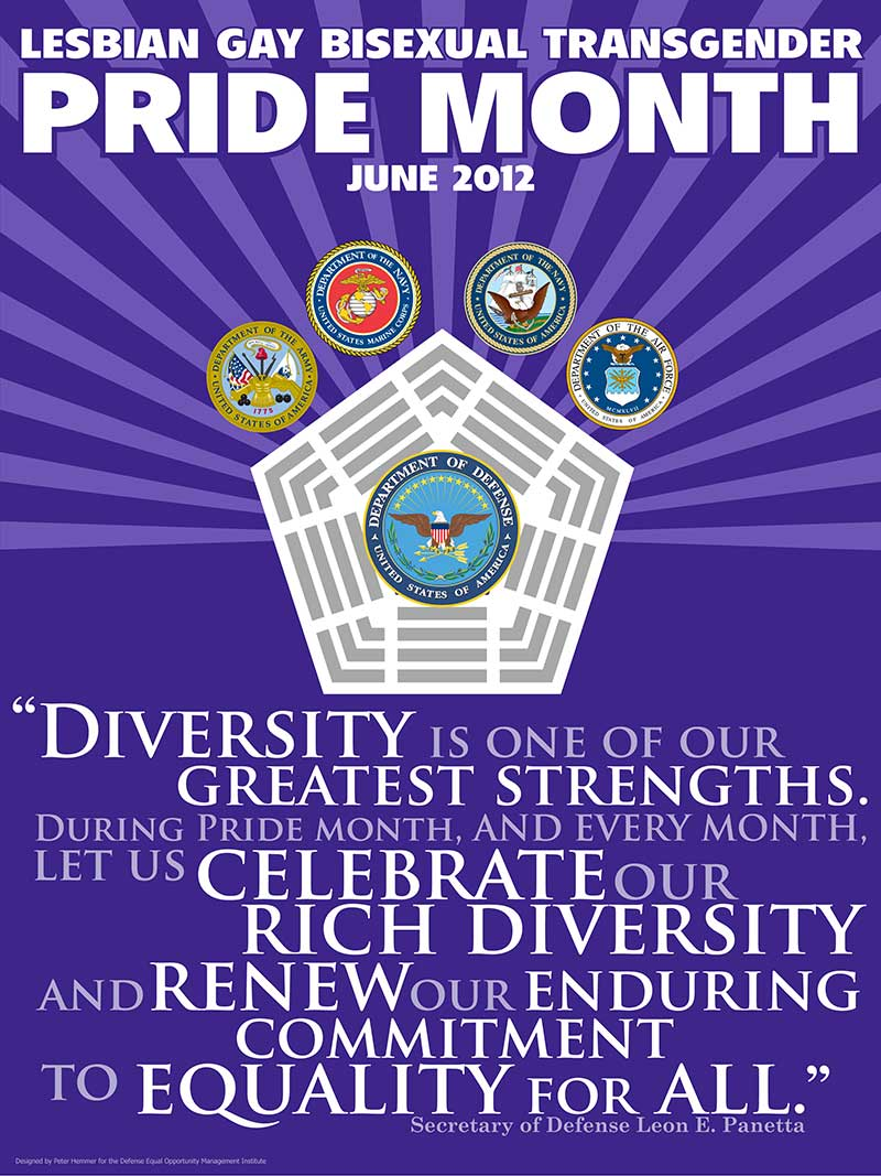 2012 Pride Month Poster