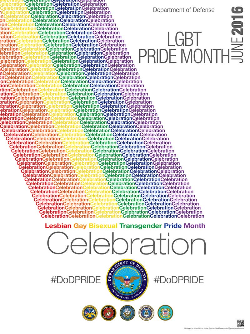 2016 Pride Month Poster
