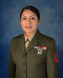 Portrait of Sgt. Irma J. Garcia