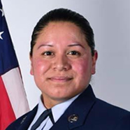 Portrait of Staff Air Force Sgt. Irma J. Meza-Orozco