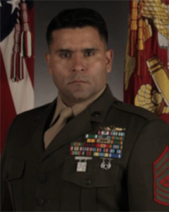 Portrait of Master Sergeant James Ramirez