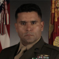 Portrait of Marine Corps Master Sergeant James Ramirez