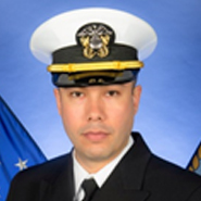 Portrait of Navy Lt. Victor H. Gutierrez