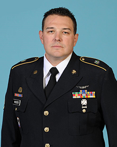 Portrait of Army Staff Sgt. Jason Woods