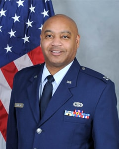 Portrait of Air National Guard Capt. Corey W. Robinson