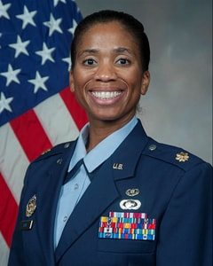 Air Force Maj. Jeanette E. Skow