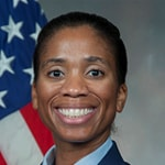 Portrait of Air Force Maj. Jeanette E. Skow