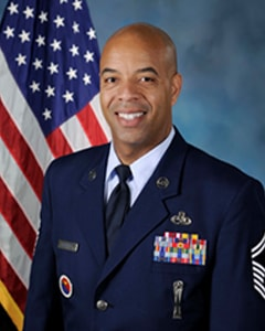 Portrait of Air Force Senior Master Sgt. Keith Castille