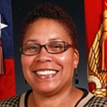 Portrait of Marine Corps Civilian Shirley D. Stephens