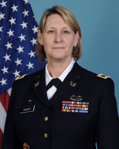 Portrait of Army Col. Lora Rainey